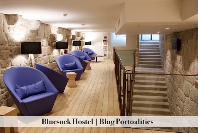 bluesock hostel porto living room
