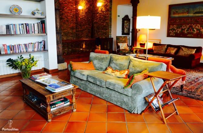 boutique hotels portugal casa pipas quinta portal lounge
