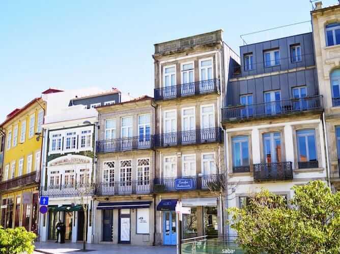 fachadas casas rua cedofeita porto