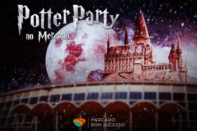 festa harry potter natal porto 2018
