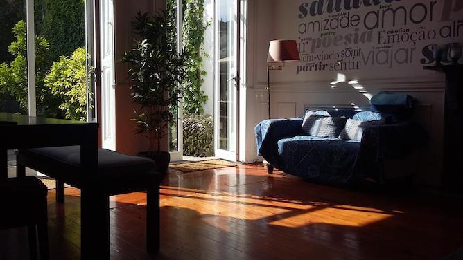 living room garden house