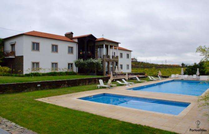 piscina casa pipas quinta portal melhores hoteis portugal