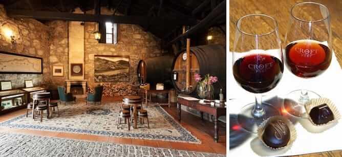 port wine tour croft lodge