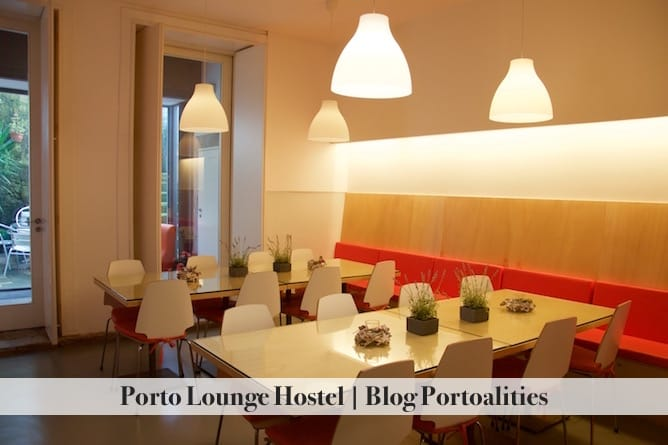 porto lounge hostel dining room
