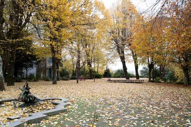 romantic walk crystal palace gardens