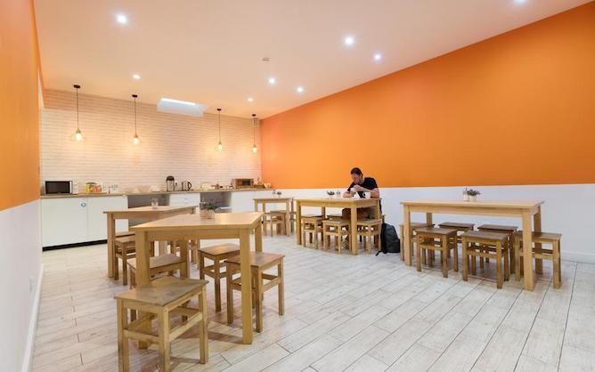 shared kitchen best guest porto hostel