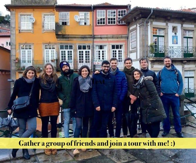 private tours in Porto