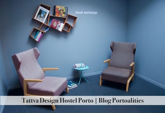ttatva design hostel porto reading spot