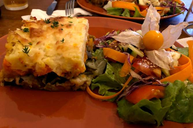 best vegetarian food porto