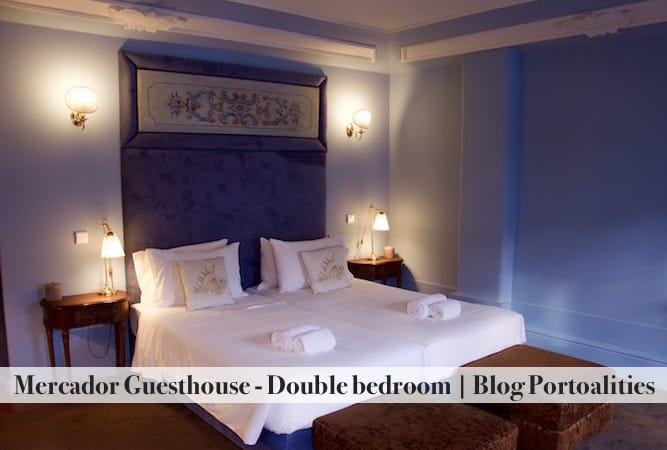 boutique hotels porto mercador guesthouse double bedroom details