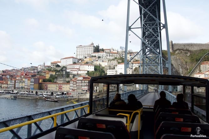 hop on hop off bus tour porto itinerario