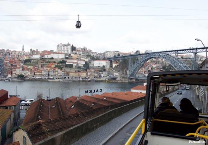 hop on hop off bus tour porto