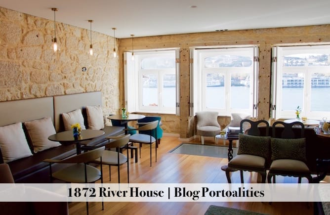 hoteis boutique porto 1872 river house quarto lounge