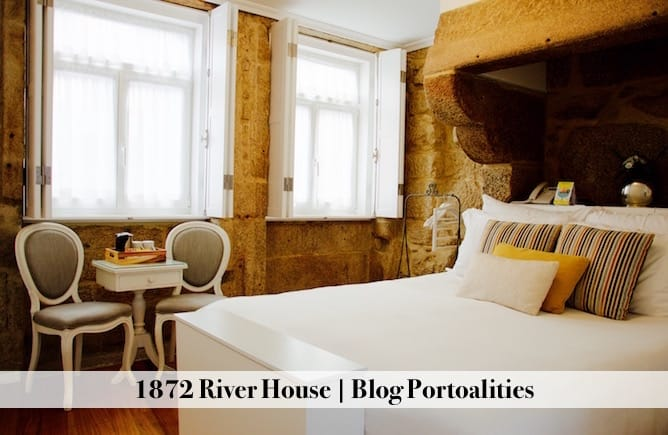 hoteis boutique porto 1872 river house quarto