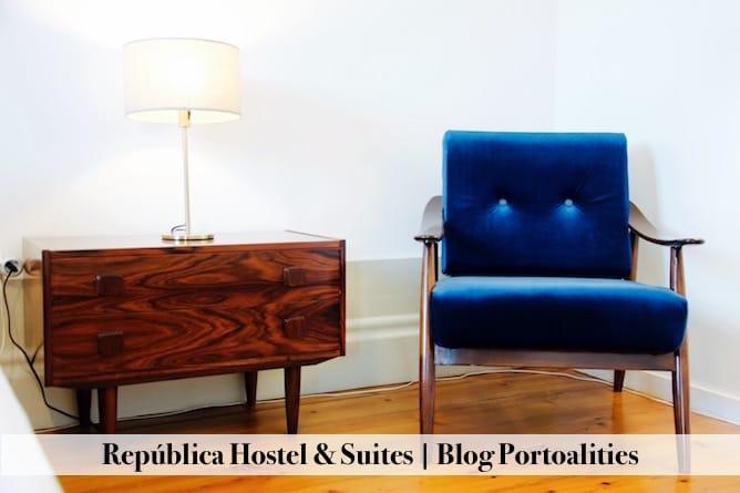 hoteis boutique porto republica hostel suites quarto detalhes