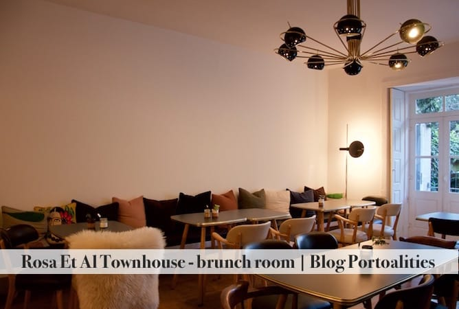 hoteis boutique porto rosa et al townhouse sala brunch