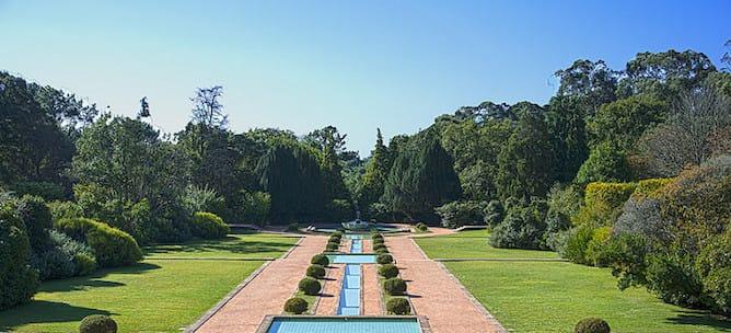 espelho agua jardins serralves
