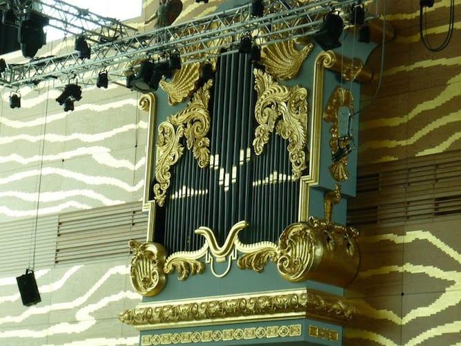 orgão tubos barroco falso