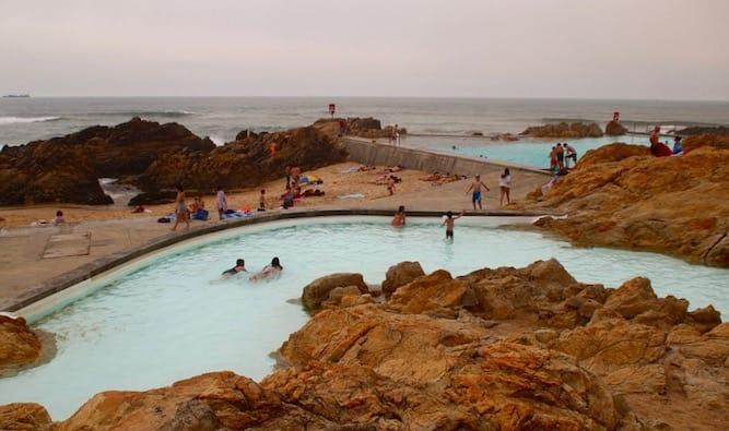 piscina crianças porto