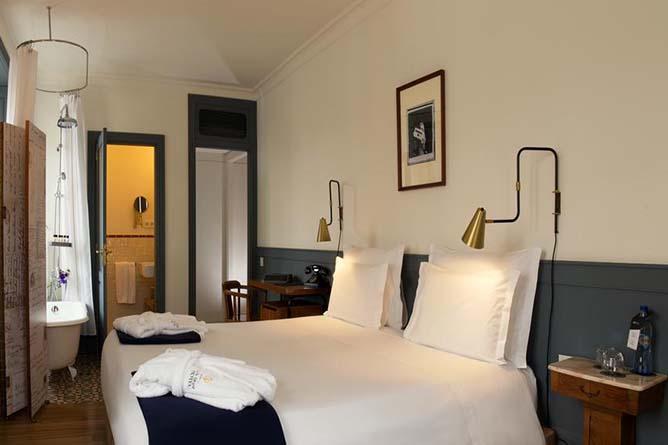 porto as 1829 hotel quarto principal