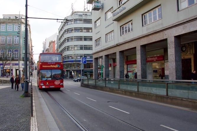 red bus tour porto