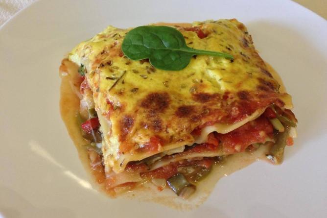 vegetarian lasanha porto