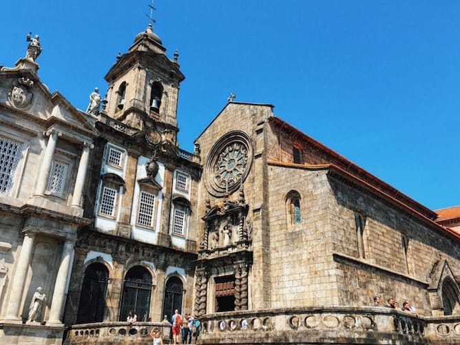 things to do in porto igreja de sao francisco