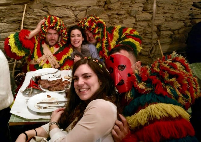 traditional Portuguese Carnival Podence