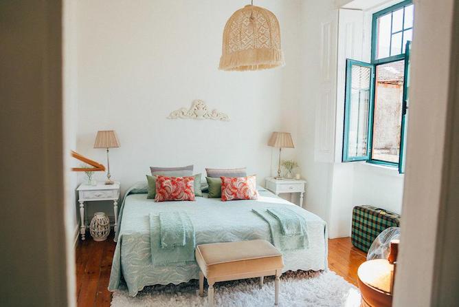 double bedroom dona fina guest house mirandela portugal
