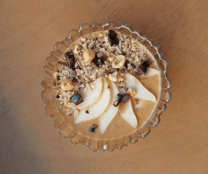 peanut butter hazelnut porridge epoca porto