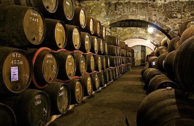 caves vinho porto