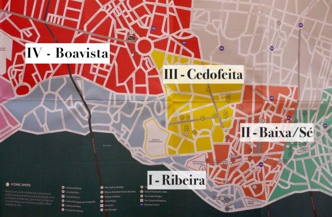 dicas alojamento porto mapa cidade