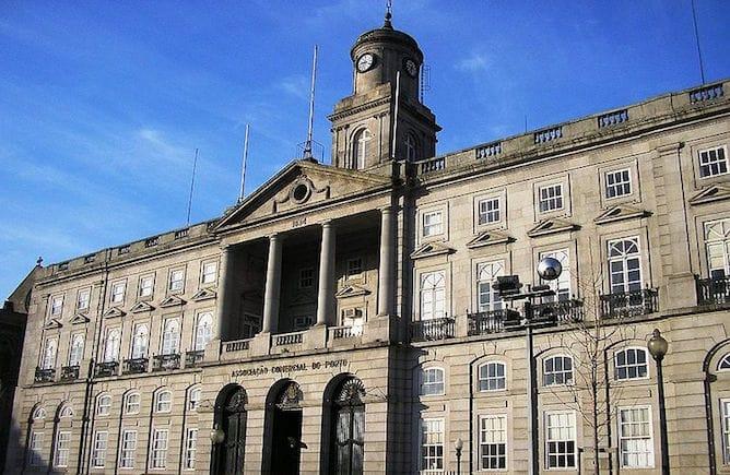 stock exchange palace porto