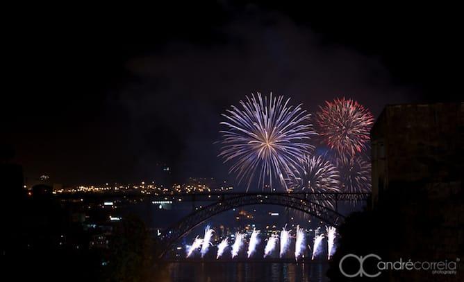 sao joao porto fogo artificio