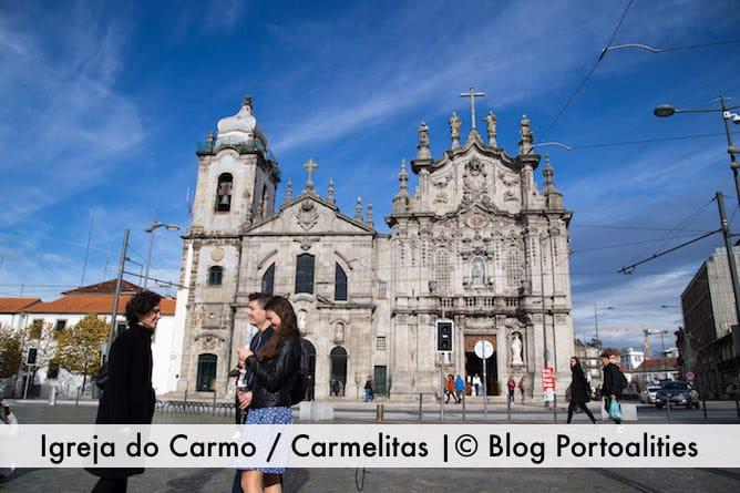most beautiful churches porto carmelitas carmo
