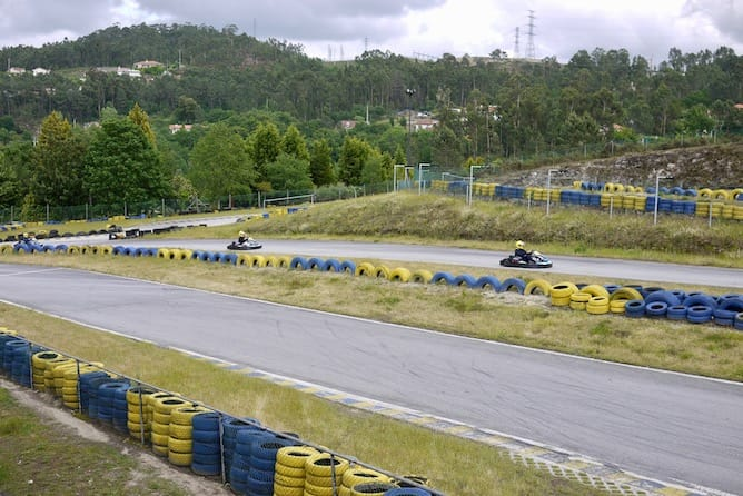 day trip from porto kart ride fafe