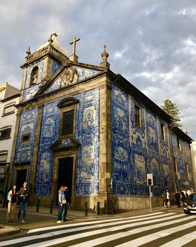 chapel souls porto azulejo tiles