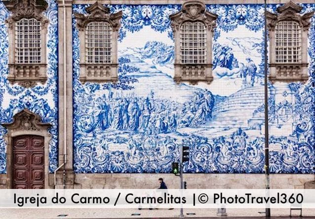 most beautiful churches porto carmelitas carmo