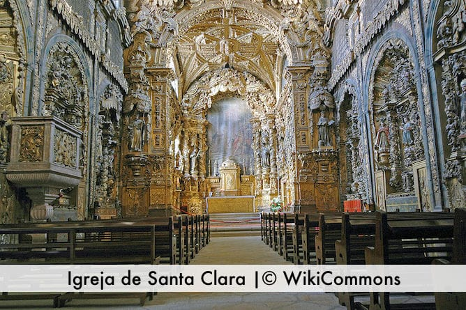 most beautiful churches porto church santa clara
