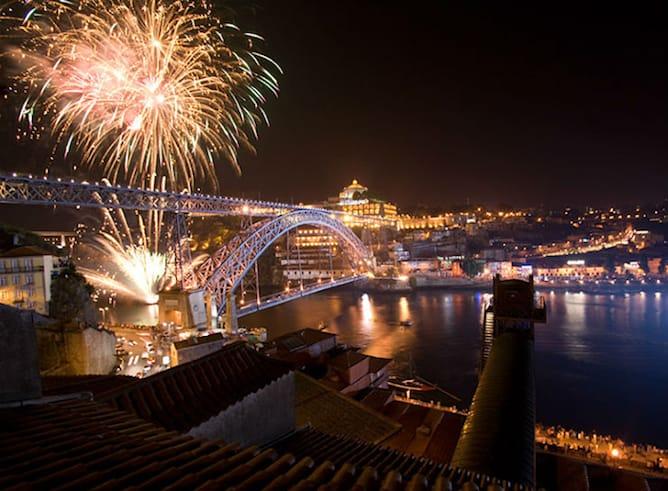 São João festival porto firework