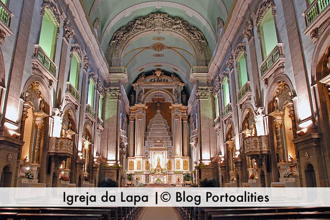 most beautiful churches porto church lapa