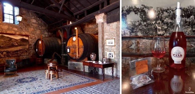 melhores caves vinho porto croft