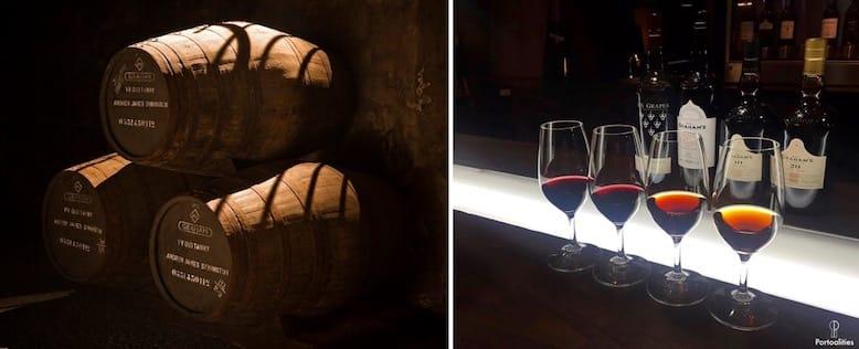 melhores caves vinho porto grahams detalhes