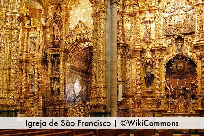 most beautiful churches porto Church of Sao Francisco