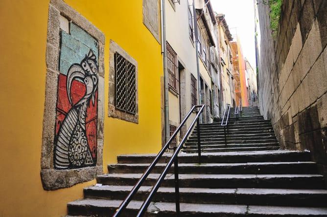 antiga judiaria porto escadas sinagoga