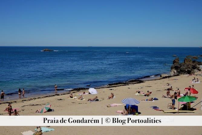 beach gondarem porto peolple families
