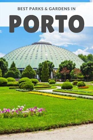 best gardens in porto
