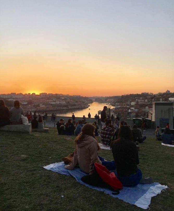 jardim morro public garden porto