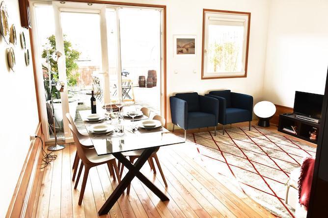 living room fontainhas apartment porto