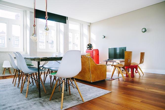 living room porto cardosas apartment